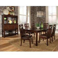 11901 in by Standard Furniture in Livingston, LA - Leg Table, W/18 In. Leaf