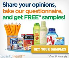 Just share your opinion to get #FREE samples! #freesamples #freestuff