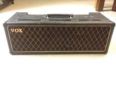 Vintage 1964 Vox AC30 Head JMI - crazy cool, I am soon a proud owner of a 2005 AC30 Custom Classic Head (CCH), but this would be amazing to own someday.