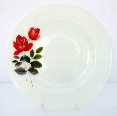 Vintage Retro JAJ June Rose Pyrex Dinner Plate