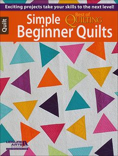 Simple Beginner Quilts - Best of McCall's Quilting-fun graphic quilt