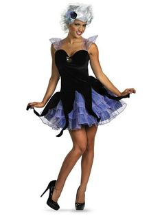 A part of me loves the idea of being a villian instead of a princess for the race. This would be fairly easy to replicate with a team sparkle skirt and black top.