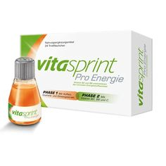 VITASPRINT Pro Energy drinking bottle 24 pc UK Vitamin B2, Pregnant And Breastfeeding, Improve Concentration, Bodybuilding Supplements, Lactose Free, Energy Drinks, Metabolism, Drink Bottles, Color Change