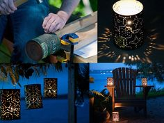 Tin Can Luminaries...