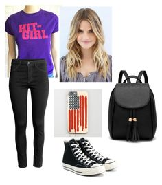 """""""a trip to the mall"""" by tesaantobing on Polyvore featuring Converse"""
