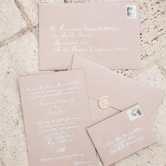 champagn/neutral/traditional wedding invitations