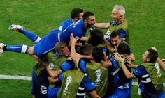 Inglaterra vs. Italia: 'La azzurra' venció 2 a 1 en Mundial Brasil 2014  (FOTOS:REUTERS)