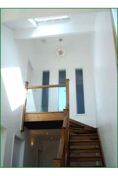 Fron Dirion Glass Staircase