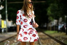 Milan Fashion Week Street Style | Studded Hearts anna dello russo