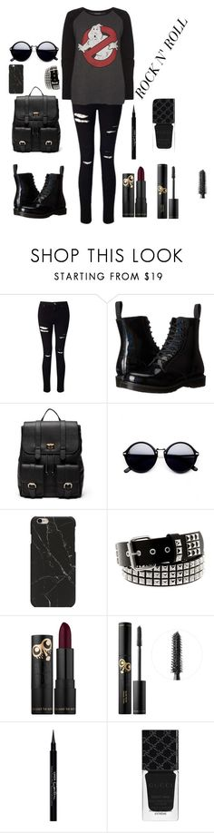 """""""Untitled #9"""" by lea-bdlt on Polyvore featuring Miss Selfridge, Dr. Martens, Sole Society, Givenchy and Gucci"""