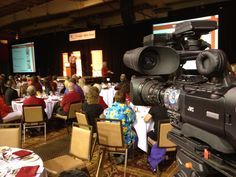 iMediaTV.ca at the United Way of Central Alberta Launch - we produced their video. United Way, The Unit