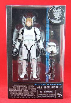 "Luke Skywalker Stormtrooper #12 Star Wars The Black Series 6"" Action Figure New #Hasbro"