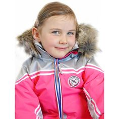 Blouson de ski kid fille Lilou Degré7 rose néon Vetement Ski, Fille, Rose f39f22fdeb9