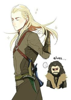 Legolas and Thorin