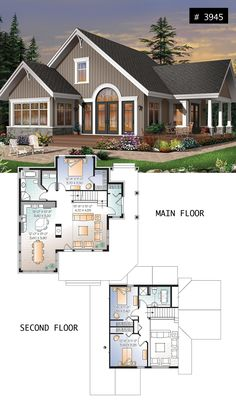287 Best Lakefront Cottage Home Plans Country House