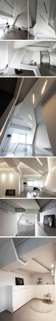 HouseWING par AnLstudio + Heebon, Seoul, Korea