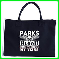 Parks Blood Runs Through My Veins Family - Tote Bag - Totes (*Amazon Partner-Link)