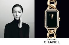 Fei Fei Sun for Chanel L'instant Watch 2014 Campaign