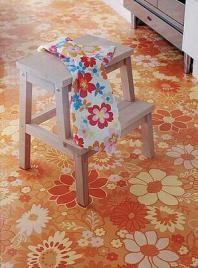 tarkett flooring. just an idea...