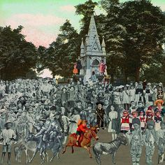 Peter Blake's fascinating new work is a must-see for fans of the Pop Art legend Collages, Peter Blake, Collage Book, Max Ernst, Its Nice That, New Work, Donkeys, Pop Art, Contemporary Art