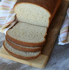 In search of a great whole wheat sandwich bread? Try this Honey Whole Wheat Bread. Recipe makes 2- 9 in loaves but will work in a 16 or 18 inch pan too. Will rise over the top of a 16 in pan but not an 18 in. No blooming the yeast. By hand or by mixer methods included. (THIS IS MY MIXER RECIPE!)