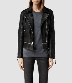 SAVINGS AND LOANS: ALL SAINTS LEATHER JACKETS | the obsessive imagist