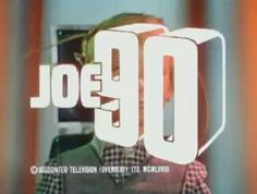 """Bold white lettering forming the words """"Joe is superimposed over the face of a young, blond-haired boy who has sets of wires connected to his head. Joe 90, Winning London, The Joe, Episode Guide, Programming For Kids, Will Turner, Amazing Adventures, Boys Who, Childhood Memories"""