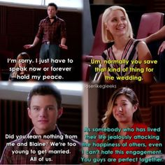 "#Glee 6x03 ""Jagged Little Tapestry"""