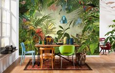 Jungle fever: Try a daring new look with this Wild wallpaper by Wayfair £92.99 ...