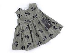 Anchor Dress alternative goth punk rock metal baby clothes | eBay