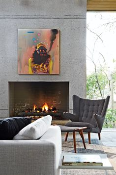 #chair # fireplace #design #decor