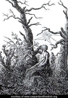 The Woman with the Cobweb - Caspar David Friedrich - www.caspardavidfriedrich.org