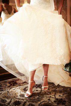 lovely... #WeddingShoes #WeddingPhotographyMinneaopolis #Vintage