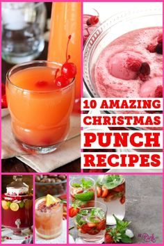 Feeding Big & Frugal Meals Looking for that perfect drink to serve up this Christmas? I have gathered some delicious and refreshing Christmas punch recipes below! Classic Punch Recipe, Best Punch Recipe, Punch Recipes, Best Christmas Punch Recipe, Holiday Punch, Alcoholic Punch, Non Alcoholic, Alcoholic Beverages, Orange Sherbert Punch