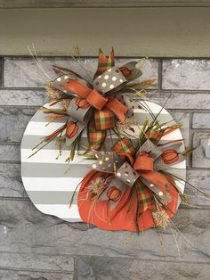 diy fall decor Excited to share this item from my shop: Christmas in july Fall door hanger, pumpkin door hanger, fall door hanger, halloween Thanksgiving Wreaths, Fall Wreaths, Thanksgiving Decorations, Halloween Decorations, Fall Door Decorations, Diy Fall Wreath, Thanksgiving Ideas, Halloween Crafts To Sell, Fall Yard Decor