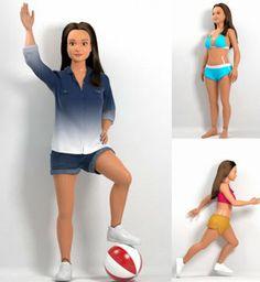 Barbie aux mensurations réalistes: c'est pour bientôt!