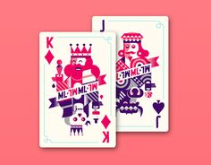 We designed a deck of playing cards for Mysteryland festival. The card were used on the USA and Dutch mainstage.