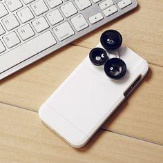 (17) Fancy - 4-in-1 Lens iPhone Case