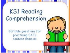 TES recommended resource! Editable KS1 Reading SATs style questions and question templates by Katharine7 - Teaching Resources - TES