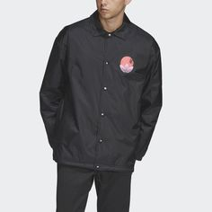 8ec988479 Tropical Coach Jacket Black XL Mens