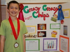 Photo of the Day: Third Grader's Greasy, Greasy Chips Project Recognized