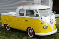 vw bus: 1967 Double Cab