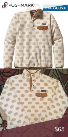 Ladies Patagonia Used ladies Patagonia with normal wear. Size small. Second picture is actual pull over. Patagonia Tops Sweatshirts & Hoodies