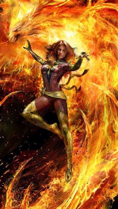 Jean Grey - Dark Phoenix by John Gallagher