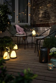 Søstrene Grene's outdoor living collection 2018. This season, Anna and Clara are presenting an urban-inspired outdoor living collection for your balcony or terrace.