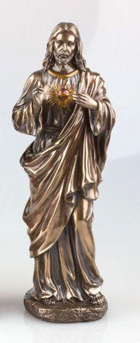 Sacred-Heart-Of-Jesus-Christ-Large-Figure-Great-Gift-Home-Decor-Religion-Art