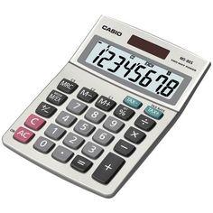 Casio Solar Desktop Calculator With 8-digit Display