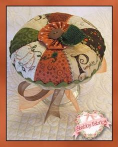 Pumpkin Pie Pin Cushion Kit