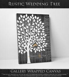 Wedding Guest Book Alternative  The Wedding Birch  A