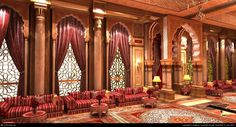 Majlis - Поиск в Google Restaurant Themes, Restaurant Concept, Restaurant Design, Restaurant Layout, Restaurant Seating, Moroccan Lounge, Moroccan Design, Moroccan Restaurant, Arabian Decor
